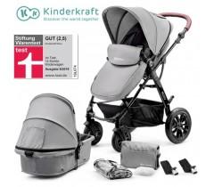 Kinderkraft - Carrinho de bebé 2 in 1 MOOV Grey