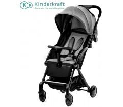 Kinderkraft - Carrinho de bebé PILOT grey