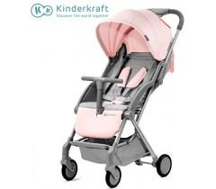 Kinderkraft - Carrinho de bebé PILOT pink