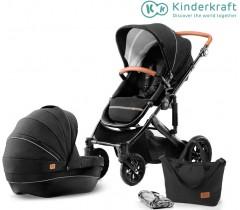 Kinderkraft - Carrinho de bebé PRIME 2 in 1black