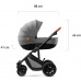 Kinderkraft - Carrinho de bebé PRIME 3 in 1 grey + mommy bag