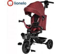 Lionelo - Triciclo Kori Red Burgundy Red Burgundy