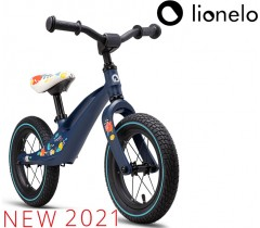 Lionelo - Bicicleta de equilíbrio Bart Air Blue Navy