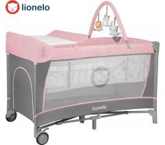 Lionelo - Cama de viagem Flower Flamingo