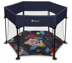 Lionelo - Parque de bebé ROEL BLUE NAVY