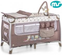 MS - Cama de viagem Complet Plus Alumínio
