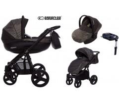 BabyActive - Carrinho de bebé 4 in 1 Mommy Obsidian