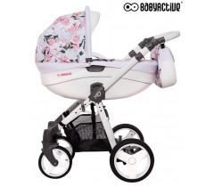 BabyActive - Carrinho de bebé 2 in 1 Mommy Primavera/Verão Peony