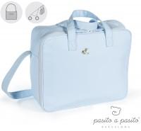 Pasito a Pasito - Mala de maternidade Elodie, Azul