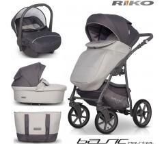 RIKO - Carrinho multifuncional BASIC Pastel + CARLO Stone