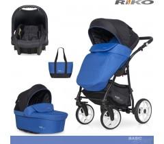 RIKO - Carrinho multifuncional BASIC SPORT + CARLO Racing Blue