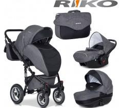 RIKO - Carrinho multifuncional BRANO + CARLO Carbon