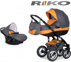 RIKO - Carrinho multifuncional BRANO + CARLO Orange