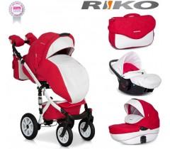RIKO - Carrinho multifuncional BRANO ECCO + CARLO Sport Red