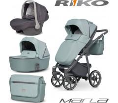 RIKO - Carrinho multifuncional MARLA + KITE ISOFIX READY Basil