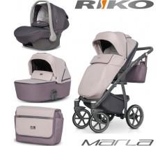 RIKO - Carrinho multifuncional MARLA + KITE ISOFIX READY Dirty Pink