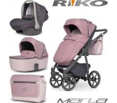 RIKO - Carrinho multifuncional MARLA + KITE ISOFIX READY Scarlet