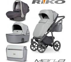 RIKO - Carrinho multifuncional MARLA + KITE ISOFIX READY Stone