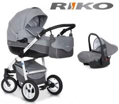 RIKO - Carrinho multifuncional NANO + CARLO Grey Fox