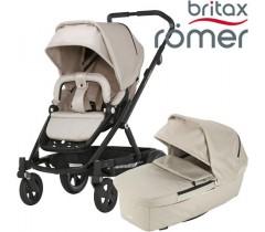Britax Romer Carro GO NEXT + ALCOFA Beige Melange