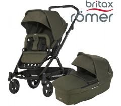 Britax Romer Carro GO NEXT + ALCOFA Olive Melange