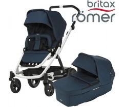 Britax Romer Carro GO NEXT + ALCOFA Navy Melange