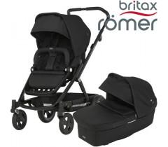 Britax Romer Carro GO NEXT + ALCOFA Black Ink