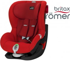 Britax  Romer KING II LS - Black Series,  Flame Red