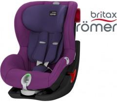 Britax  Romer KING II LS - Black Series,  Mineral Purple