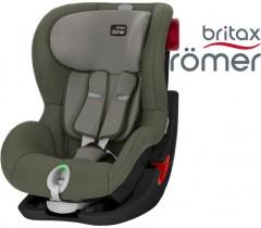 Britax  Romer KING II LS - Black Series,  Olive Green