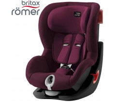 BRITAX RÖMER - King II BLACK SERIES Burgundy Red