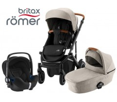 Romer | Britax - Smile III Trío Comfort Pure Beige Black
