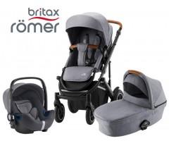 Romer | Britax - Smile III Trío Comfort Frost Grey