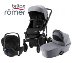 Romer | Britax - Smile III Trío Comfort Frost Grey Black