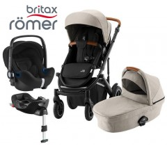 Romer | Britax - Smile III Trío Comfort Plus Pure Beige Black