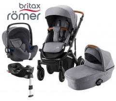 Romer | Britax - Smile III Trío Comfort Plus Frost Grey