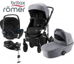 Romer | Britax - Smile III Trío Comfort Plus Frost Grey Black