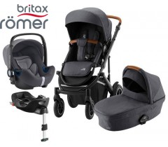 Romer | Britax - Smile III Trío Comfort Plus Midnight Grey