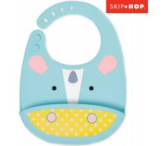 Skip Hop - Babeiro de silicone Zoo Unicorn