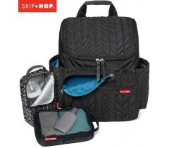 Skip Hop - Bolsa mochila Forma Jet Black