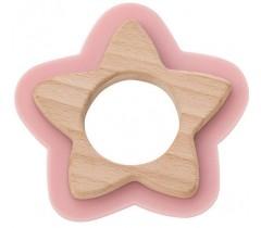 Saro - Nature toy: mordedor Estrela Rose