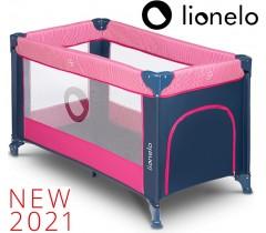 Lionelo - Cama de Viagem Stefi Pink Rose
