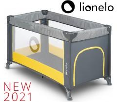 Lionelo - Cama de Viagem Stefi Yellow Lemon