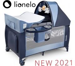 Lionelo - Cama de viagem Sven Plus Blue Navy