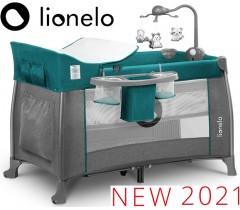 Lionelo - Berço Thomi 2 em 1 Green Turquoise