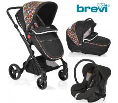Brevi - Trio Presto City Multicolor