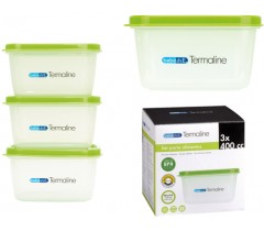 Bebedue - Porta alimentos Termaline 3x400cc