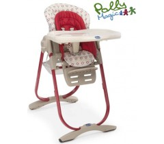 Chicco - Cadeira da papa Polly Magic, Pois