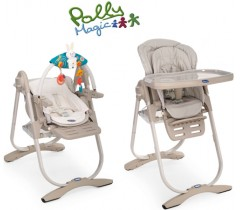 Chicco - Cadeira da papa Polly Magic, Mirage