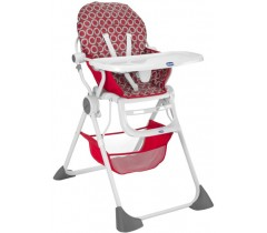 Chicco - Cadeira da papa Pocket Lunch, Red Wave